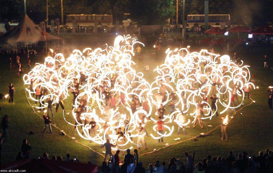 مهرجان النار الدولي